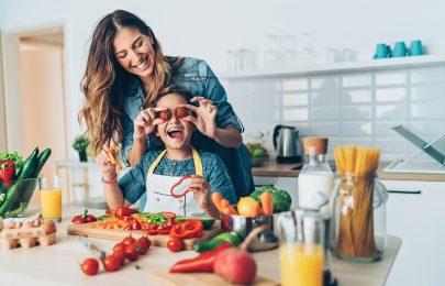 Missão: alimentação saudável para as crianças