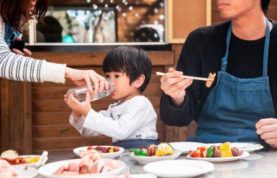 Vamos aumentar o consumo diário de água nas crianças?