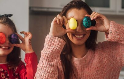 Organizar uma caça aos ovos da Páscoa em Casa