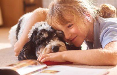 6 benefícios de animais na vida das crianças