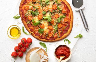 Receita de agosto: Pizza