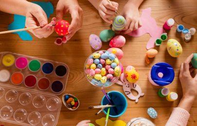 Aprenda como fazer Ovos de Páscoa para colorir